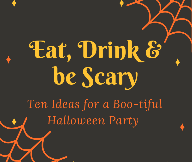 10 Fun Ideas for Your Halloween Party