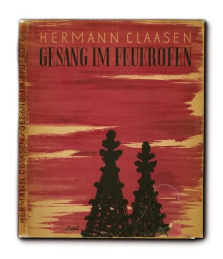 Hermann Claasen, Gesang im Feuerofen. Buchcover