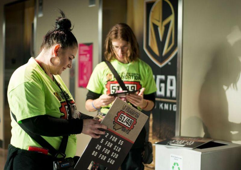 Foley's Folded Flag Foundation Raising Money at Golden