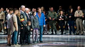 We will all remember the Golden Knights' pre-game ceremony Oct. 10.