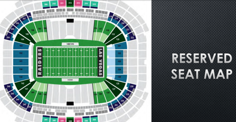 Raiders Offering Three Options To Pay Personal Seat Licenses For Lv Stadium Club Seats Lvsportsbiz