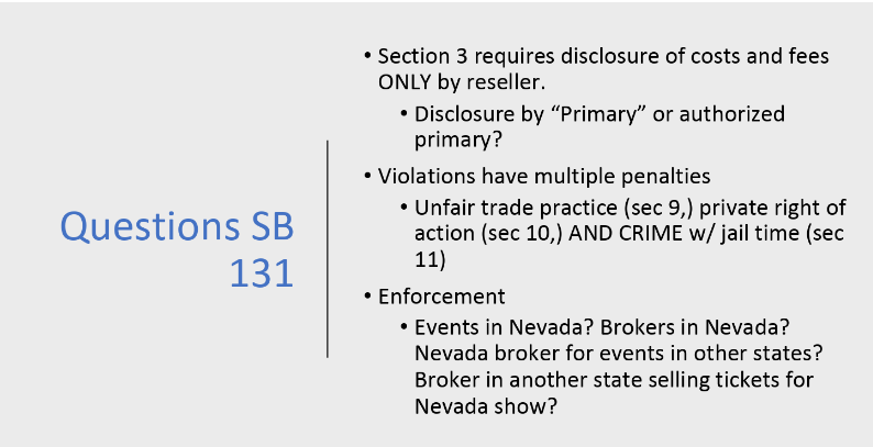 Proposed Nevada Legislation Would Criminalize Some Illegal Sports