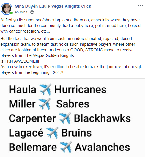 Hard To Say Good-Bye After Golden Knights' Miracle 2017-18