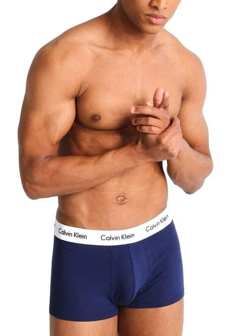 Calvin Klein farebné boxerky Low Rise Trunks tricolor 3 Pack I03 3