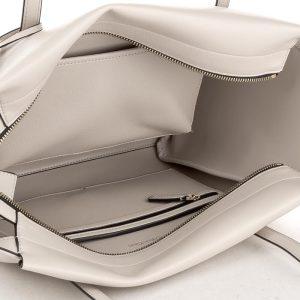 Kabelka Calvin Klein Frame Large Shopper krémová detail