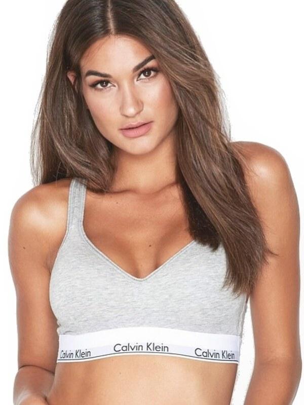Calvin Klein podprsenka športová Modern Cotton
