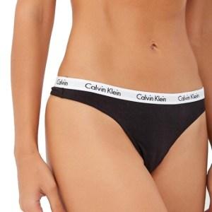Calvin Klein damske tanga 3 pack