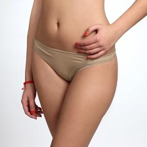 Calvin Klein nohavičky tanga Seductive Comfort Caress telová