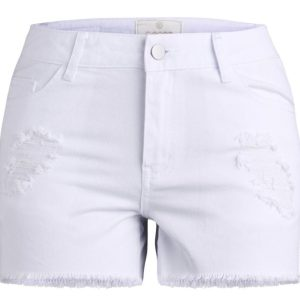PIECES dámske šortky Just Trish Shorts biela