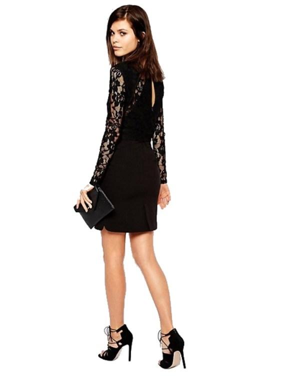 Y.A.S Lava šaty dámske Dress čierne 02