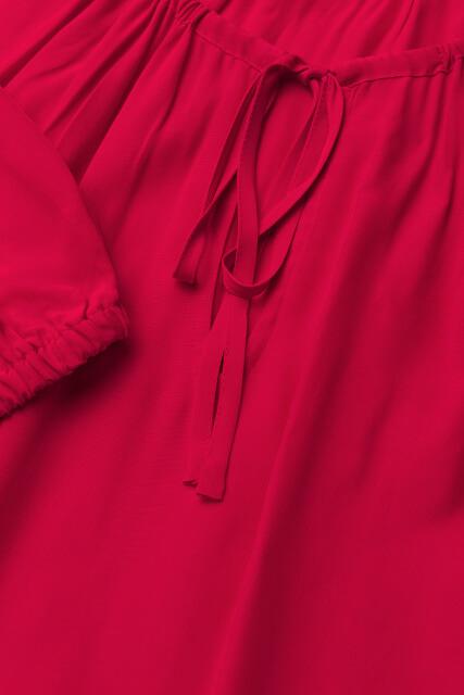 Šaty Tommy Hilfiger Haren Dress červené 4