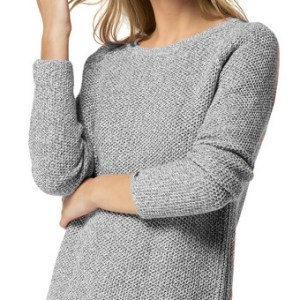 Sveter Tommy Hilfiger Beni Open Neck Jumper Grey