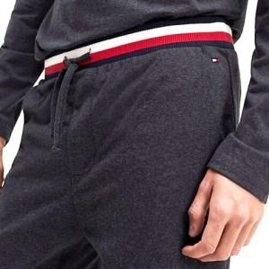 Tepláky pánske Tommy Hilfiger Cuff Jersey Pant 091 4