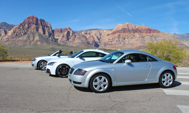 TTs at the Red Rock Overlook