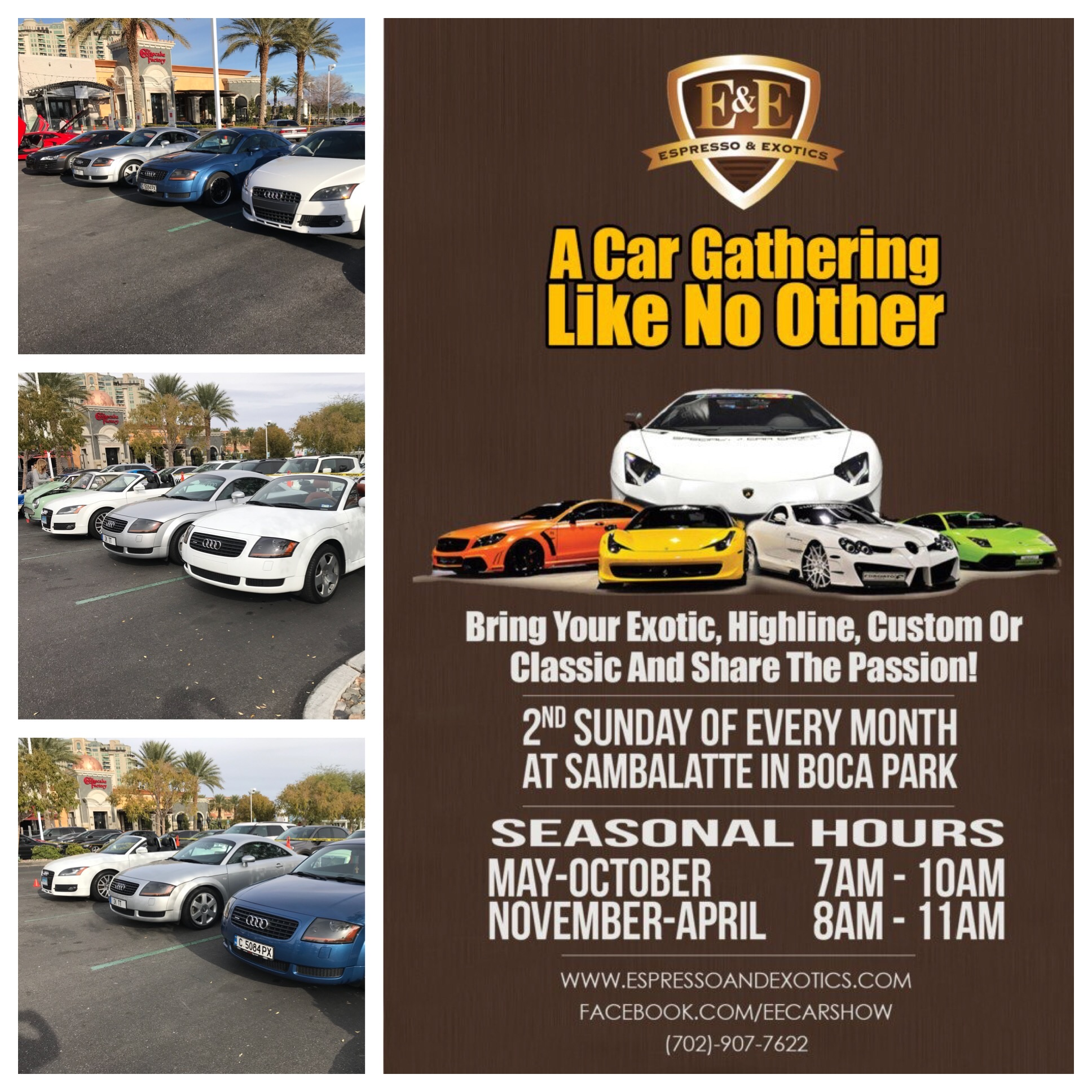 Expresso and Exotics – Meet-up Every Second Sunday of the