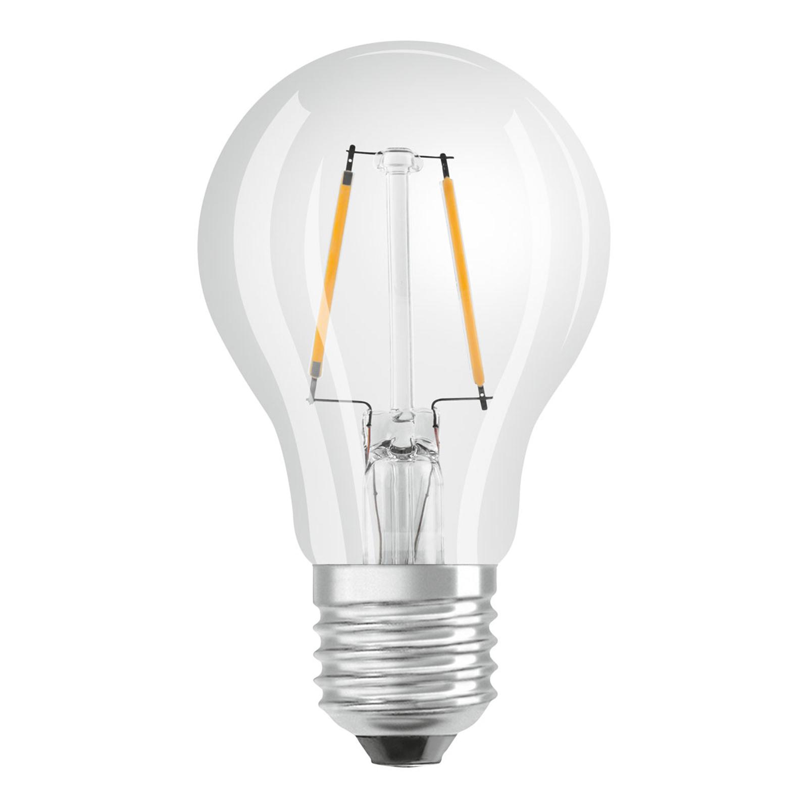 osram led lampe e27 3 3w classic filament 2 700k