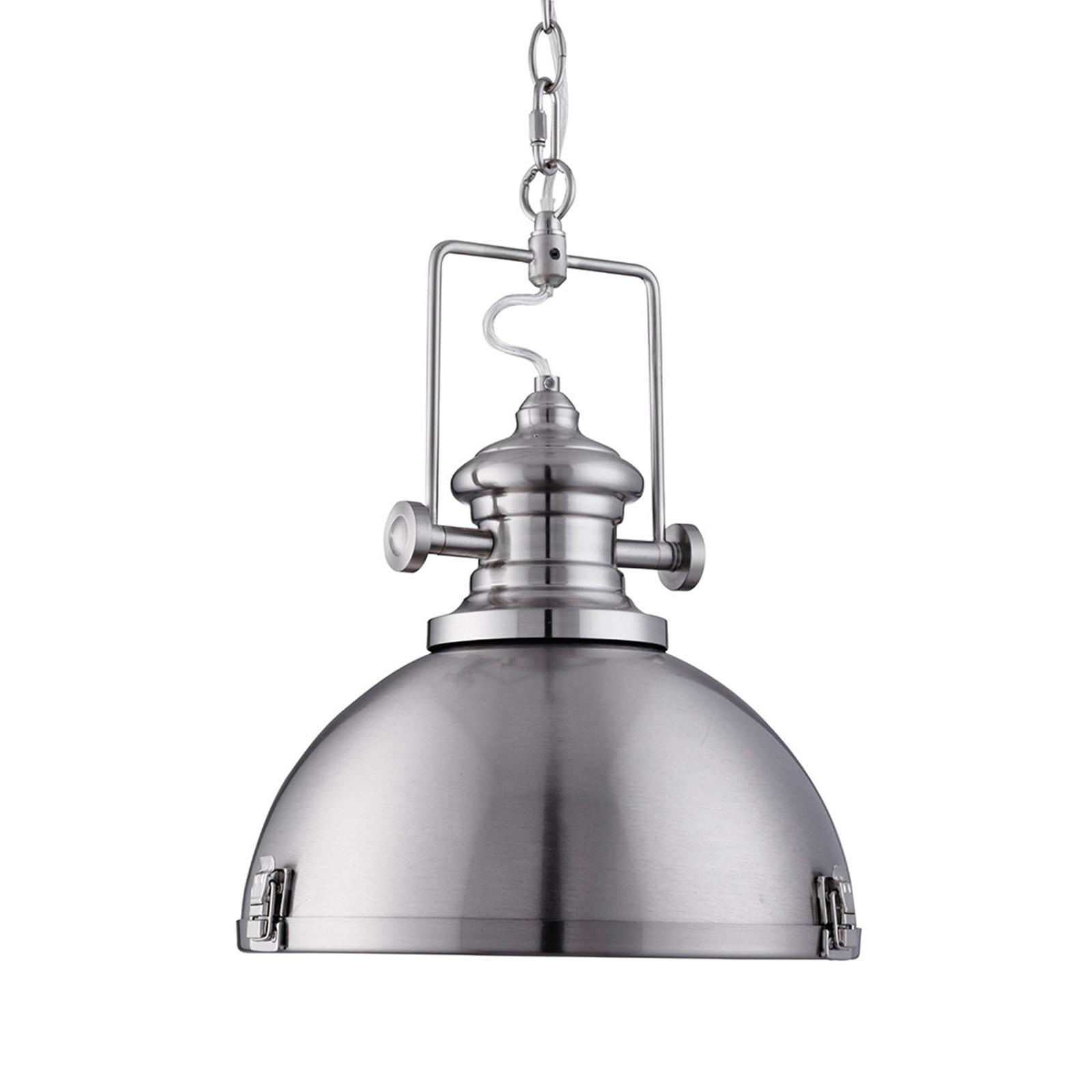 Popular Industrial Pendant Light Silver Lights Co Uk