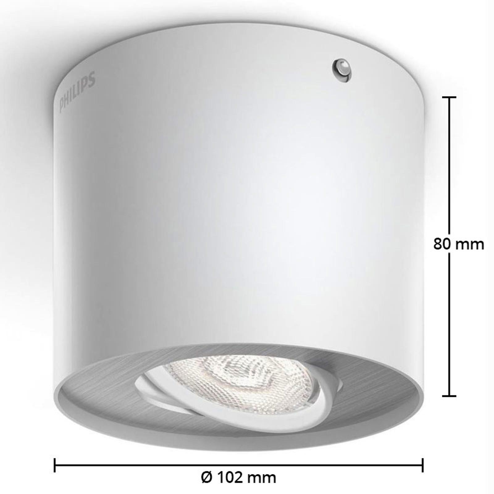 spot led phase blanc
