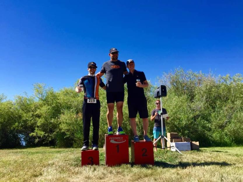 3rd Place Steamboat Triathlon