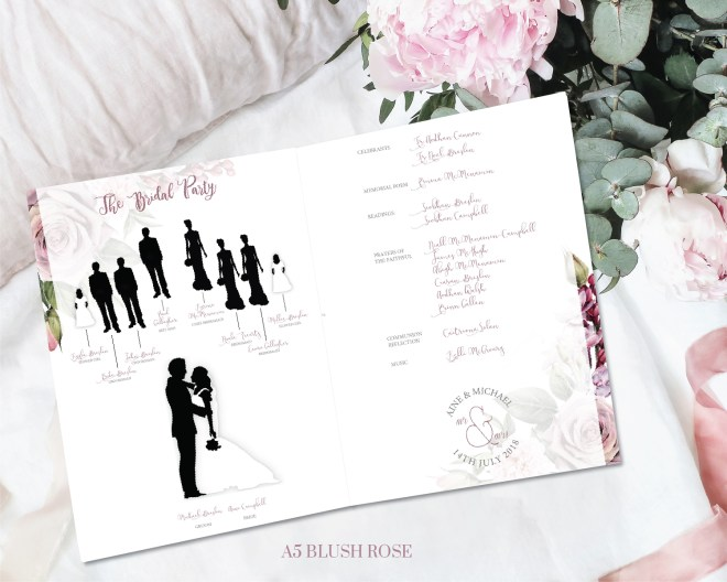 Blush Rose Bridal Booklets