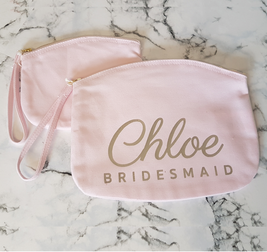 Personalised Makup Bag