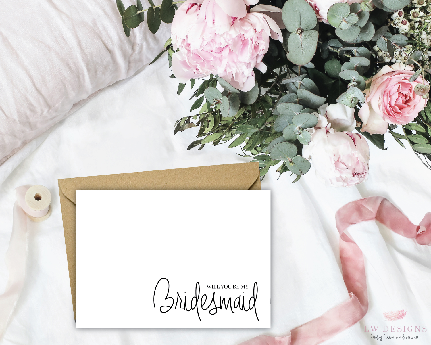 Bridesmaid-A6Postcard