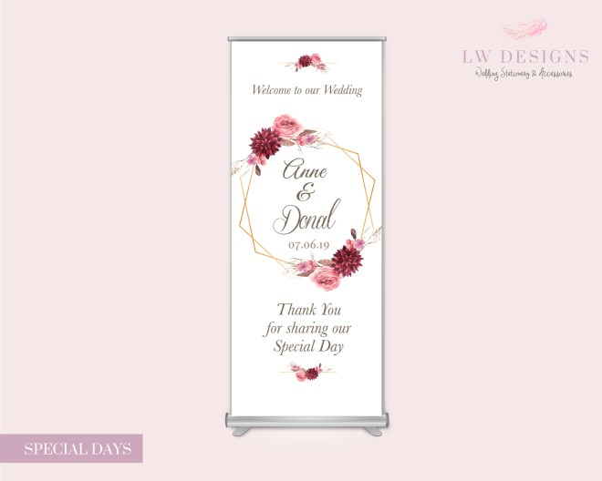 Special Days-Roll up Banner