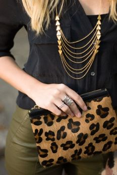 Leopard goes with everything.