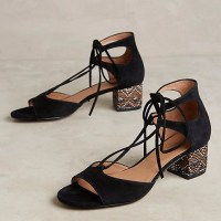 Spring shoe trend: low heeled sandals
