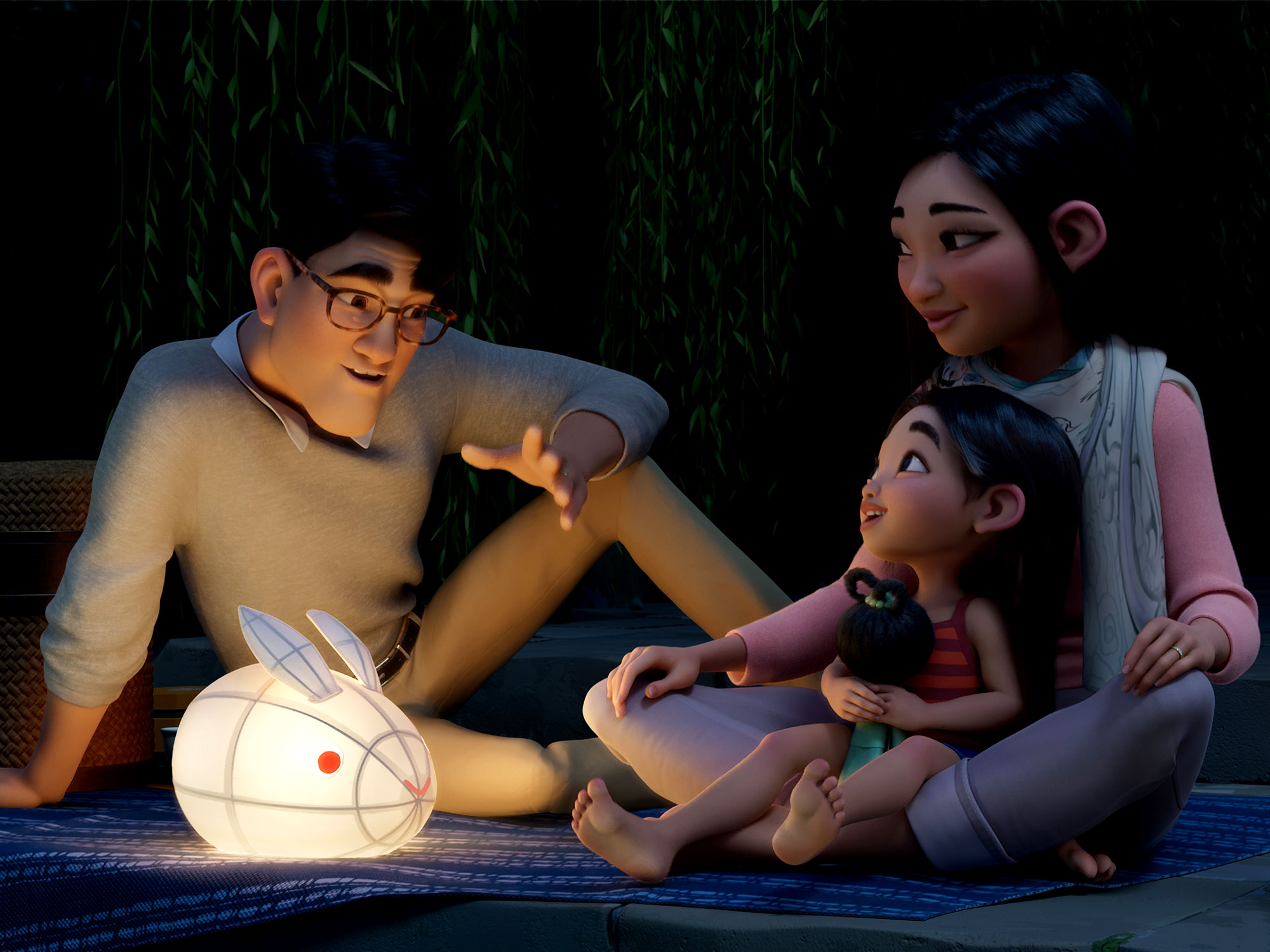 A young girl voyages into outer space in the Over the Moon trailer ...