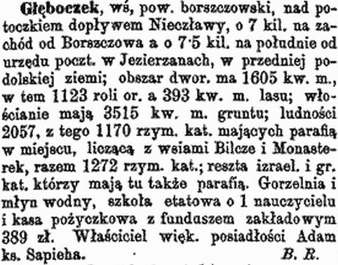 Słownik Geograficzny Królestwa Polskiego i Ziem Przyległych