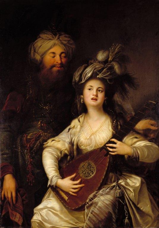 Roksolana - Anton Hickel, 1780