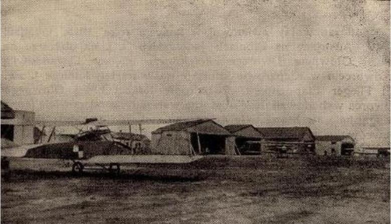 Lotnisko Lewandówka 1918 r.