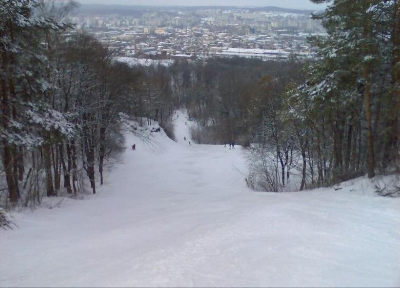 Stok narciarski bazy Dynamo Lwów