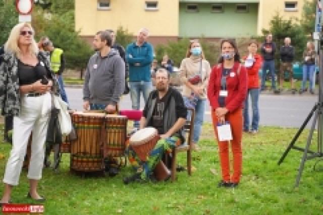 Protest w Mirsku. Stanowcze NIE dla odpadów z Niemiec 30