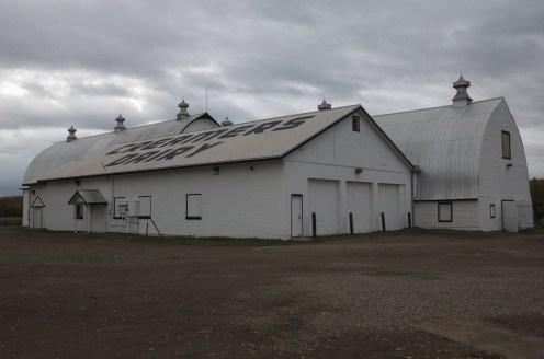 The barn at Creamer's Field in Fairbanks