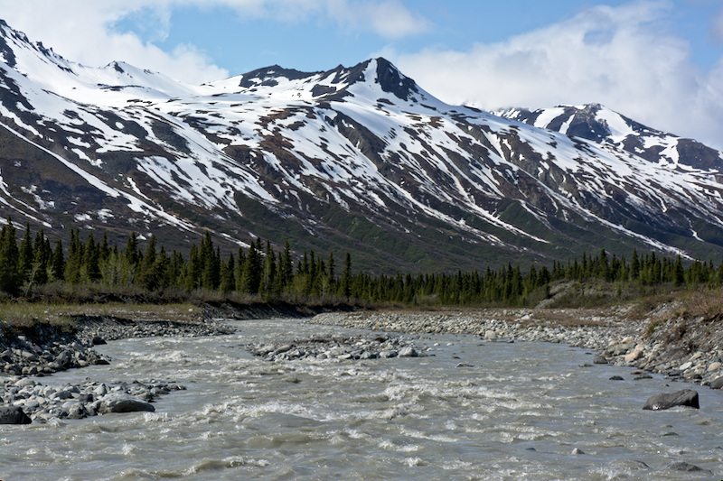 Miller Creek in the Alaska Range