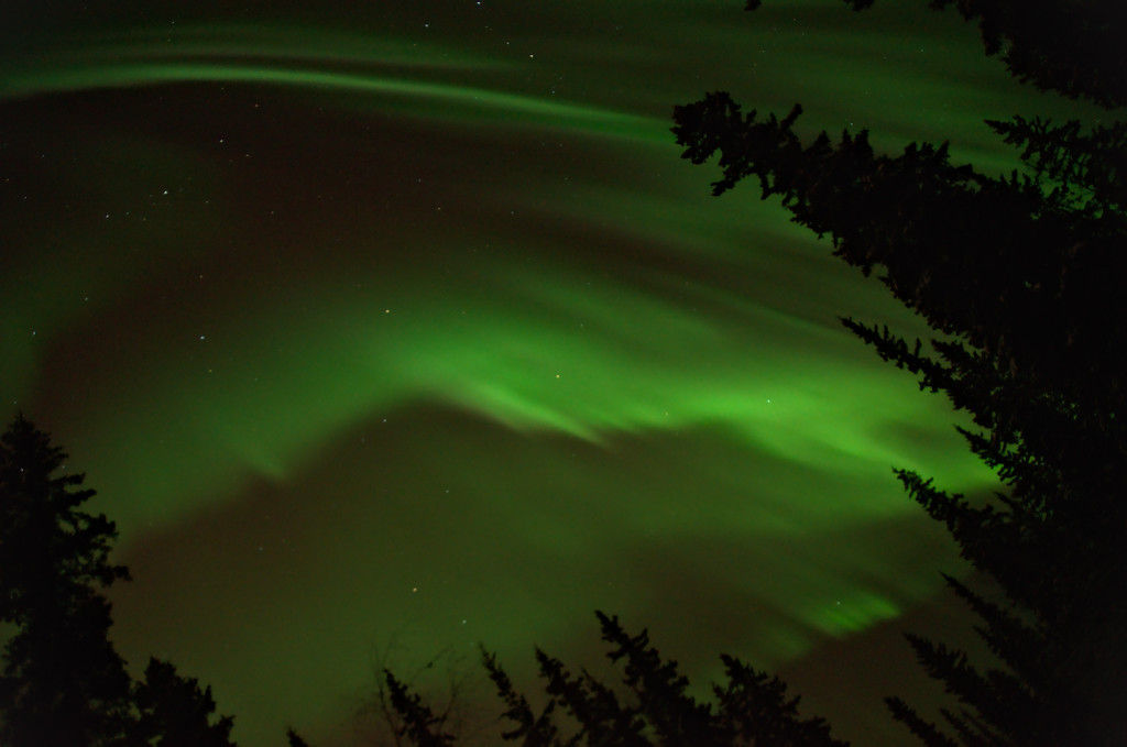 Awesome showing of the northern lights on February 18, 2014 into the next morning. One of the most incredible aurora borealis displays I've ever seen!