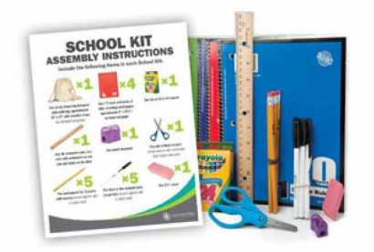 School Kit Instructions | Lutheran World Relief