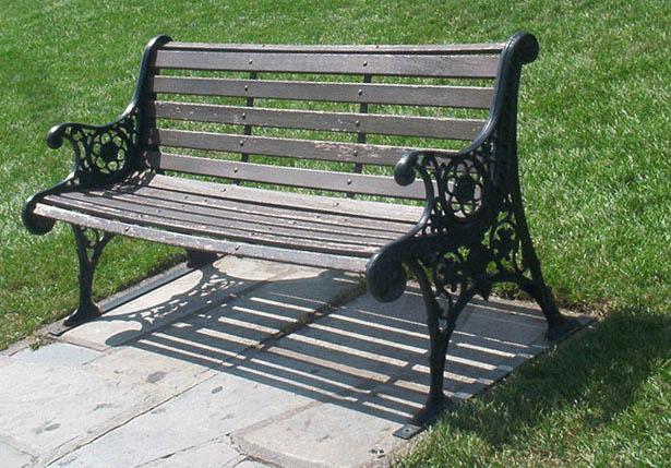 Park Bench Slats Midnight Woodworking