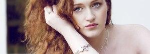 Model wearing LWSilver jewellery