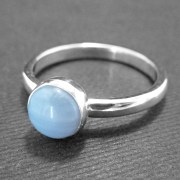 Blue Lace Agate Ring