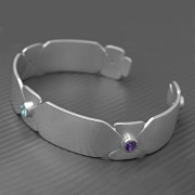 Birthstone Bangle