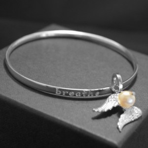 Pear/angel bangle