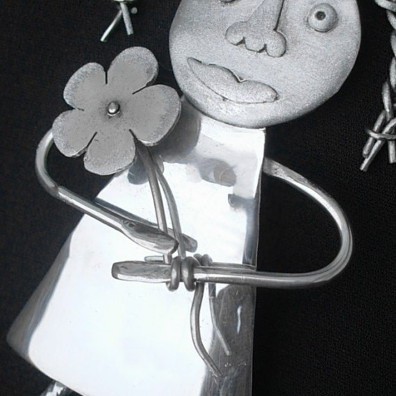 Child's Design Brooch