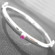 Ruby Child Bangle