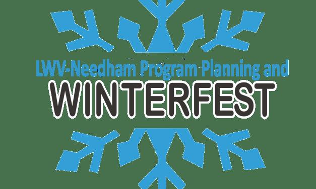 LWV-Needham Program Planning/Winterfest