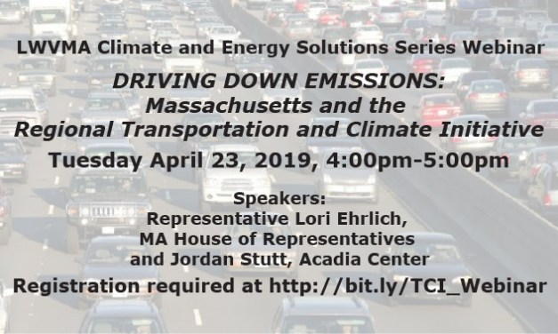 Webinar: Transportation Climate Initiative
