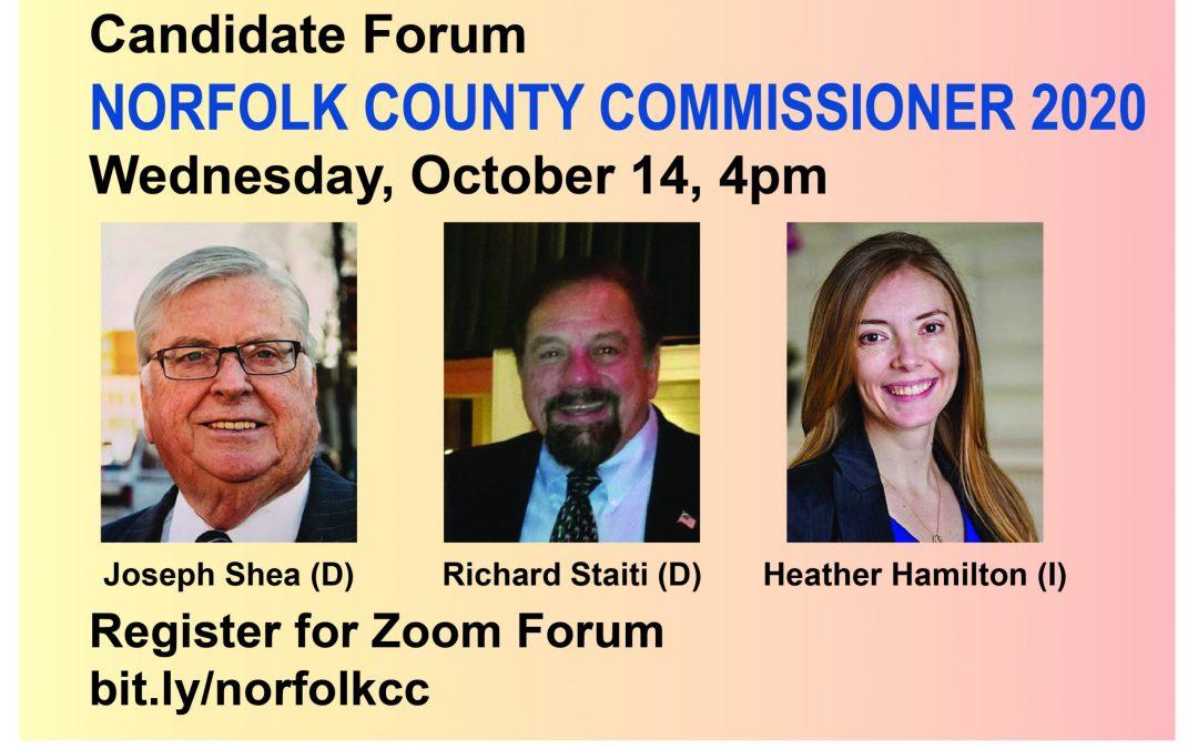 Commissioner Forum