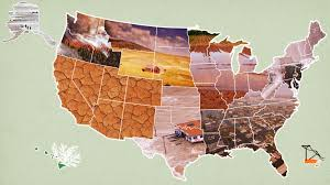 position paper on climate change, US map